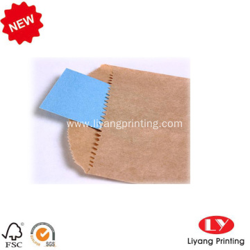 Custom paper envelope folder with logo printing