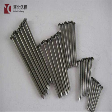 Black concrete steel nails size