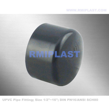 PVC Pipe Fitting End Cap DIN PN16