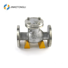 "JKTLPC004 loaded lift stainless steel flanged 1 1/2"" check valve"