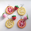 High Quality Handmade Knitting Crochet earring For Beginners