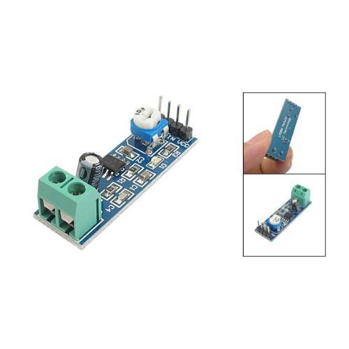 New LM386 Audio Amplifier Module 200 Times 5-12V 10K Adjustable Resistance