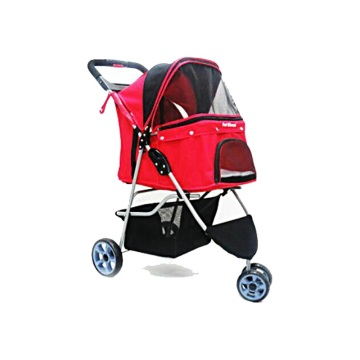 Aiberry Pet Travel Folding Carrier Stroller