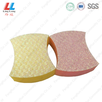 crafted cleaning kitchen sponge pad