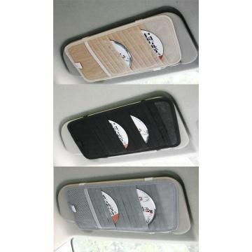 12 Slot Car CD Holder Auto Visor DVD Disk Card Case Clipper Bag Interior Organizer Cover Automobile Storage Bag Accessories