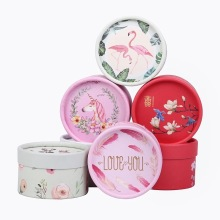 Wedding Round Gift Candy Box