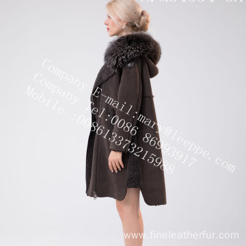 Winter Spain Merino Shearling Coat For Women