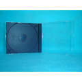 cd cover CD case cd box 10.4mm single  with black tray(YP-A102)