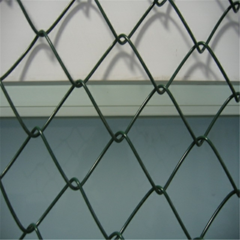 Zinc Coated Decorative Garden Chain Link Fence