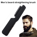 Man's beard straightening brush