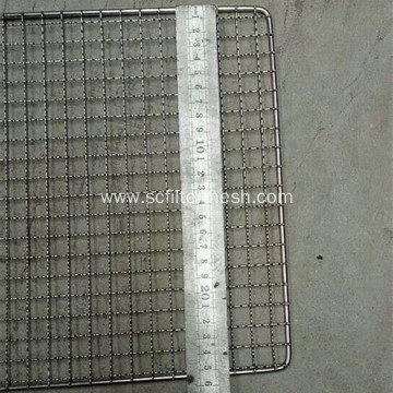 Square Hole One-off Use(Disposable) Barbecue Wire Mesh
