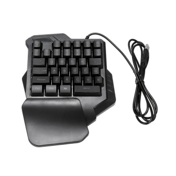 Mechanical One Handed Keyboard Gaming Left Hand Game Keypad For Lol /Dota/Ow