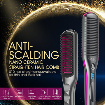 Rifny hair dryer brush straightener price