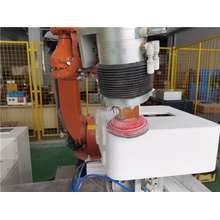 Speaker shell polishing grinding active contact flange