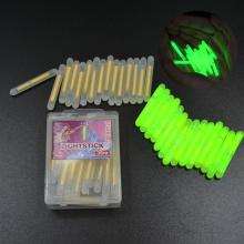 FISH KING Luminous Float 30pcs/box 4.5x38mm Dark Glow Stick Night Fishing Float Fish Fluorescent Pesca Lightstick Rod Lights