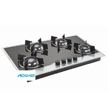 Glen 8MM Toughened Glass Gas Hob