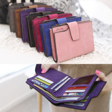 7 Colors Women's Casual Coin Key Holder Wallets Case Small Retro Purse Mini Bags Zipper Wallets