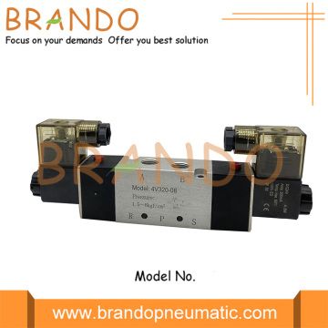 5/2 Way 4V320-08 Terminal Box Pneumatic Solenoid Valve