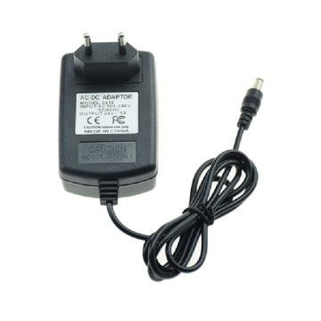 EU Plug Power Adapter 24V-1A-24W Wall Mount Charger
