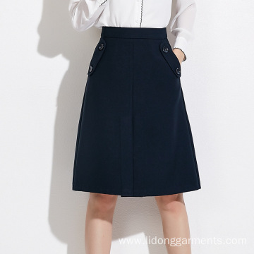 High Quality A-line Women Office Lady Sexy Dress