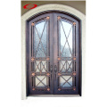 Double Iron Entry Door