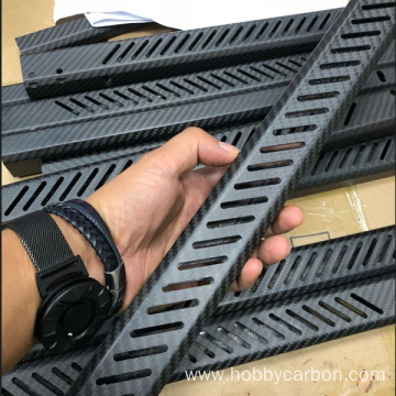 Hobbycarbon carbon fiber tube with making holes service