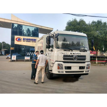Guaranteed100% Dongfeng 12cbm Solid Waste Compactor Truck
