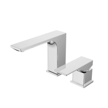 Single lever concealed washbasin mixer
