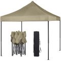 Outdoor 3x3 advertising folding gazebo tent with sidewalls