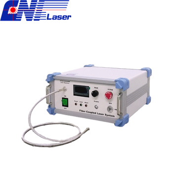 High Power Fiber Coupled Diode Laser System