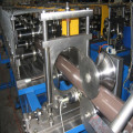 Highly polished downpipe roll forming machine