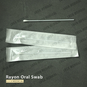 Transport Swab Viscose Tip with Plastic Stick