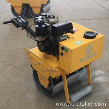 Reliable quality diesel engine vibratory road roller in stock FYL-600C