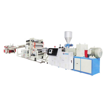 PVC foam sheet making machine plant