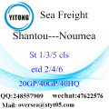 Shantou Port Sea Freight Shipping To Noumea