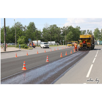 Road Maintenance Asphalt Slurry Seal Paver
