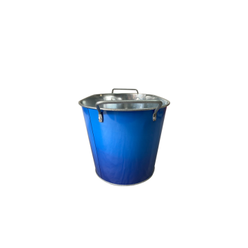 Ice Bucket with Square Double Fixed Handles