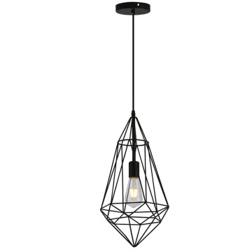 Modern creative art geometric pendant light