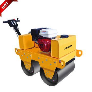 Manual 550kg Mini Double Drum Vibratory Soil Compactor