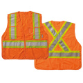 Safety vest with clear id pocket