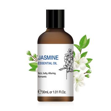 HIQILI 1OZ 30ML Jasmine Essential Oil Diffuser Aroma Oil Sandalwood Vanilla Peppermint Lavender Patchouli Ylang Ginger Lemon