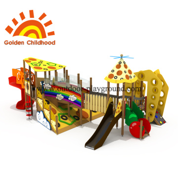 Colourful Outdoor Playground Equipment Commercial Playset