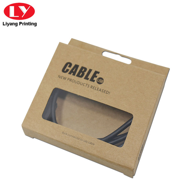 Kraft Hanging Box For Cable