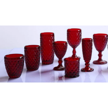 Hand Made Rombal Glass/Drinking Glass Set