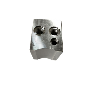 Finely Machined Manifold Valve Block Part
