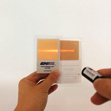 Plastic IR Viewing Card