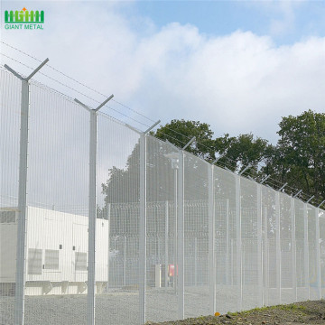 358 welded high security fence