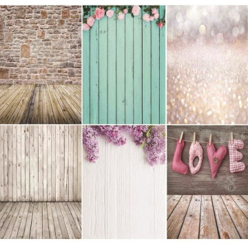 Vinyl Custom Photography Backdrops Brick Wall and floor Theme Photo Studio Background NYF1-01