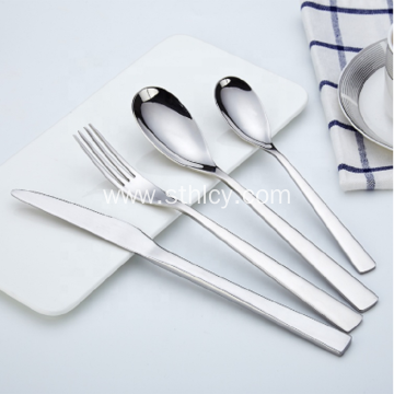 New Design Wedding Silver Cutlery
