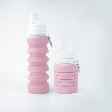 Eco-friendly Silicone Outdoor Sport Collapsible Water Bottle